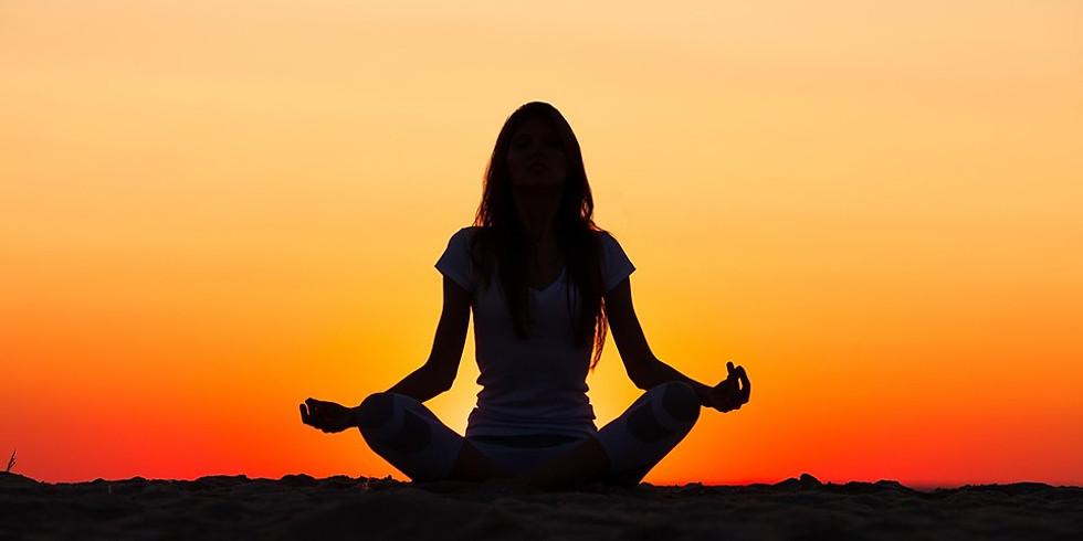 Sunset Yoga, Meditation and Tea in the Zen Garden