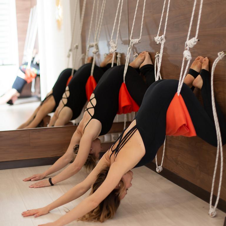 Iyengar Yoga w/ Ropes