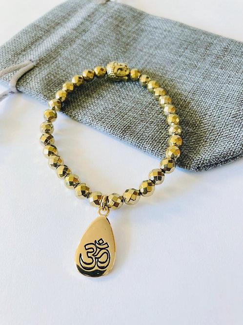 Kanika Gold Mala Bracelet