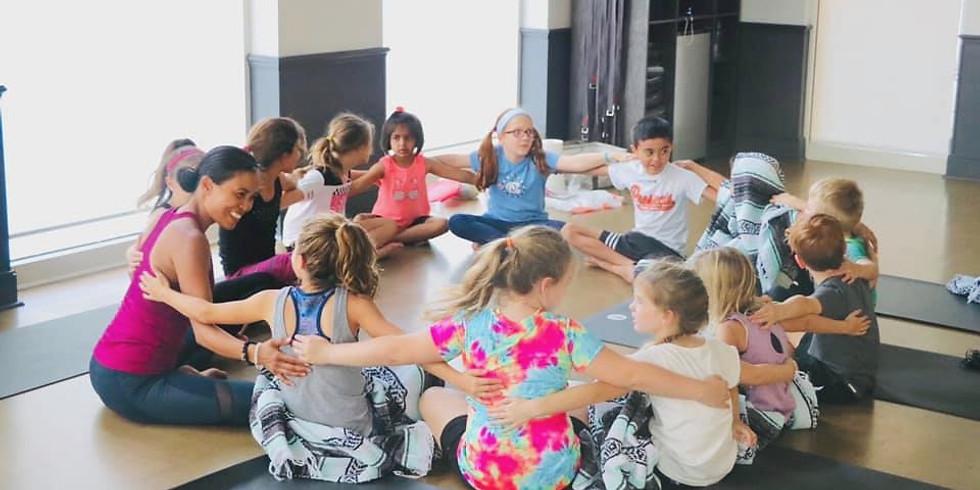 Junior High Yoga: Tuesdays  (6th-8th Grade)