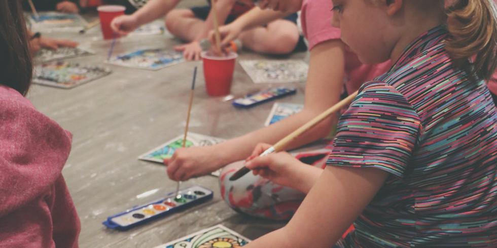 Kids Yoga+Art Camp