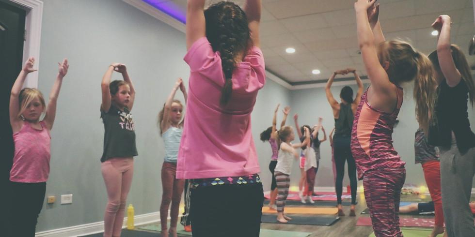 Kids Yoga: Mondays & Wednesdays (Ages 5 to 5th Grade)