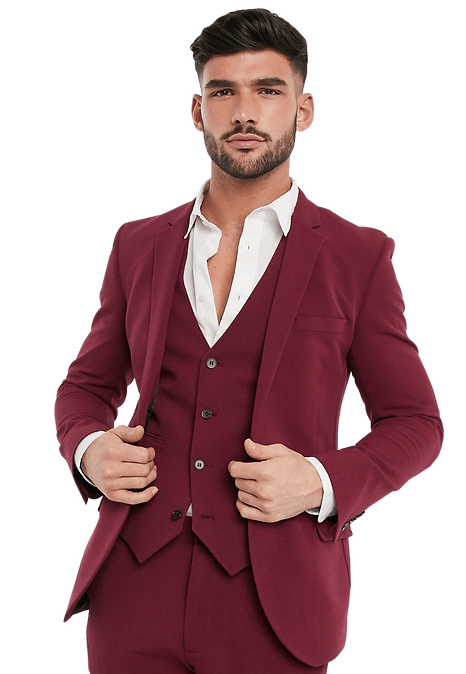 burgundy-christmas-holiday-dinner-suit-m