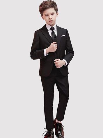 Black Boy's Suit