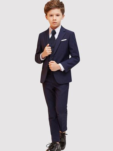 Navy Blue Boy's Suit