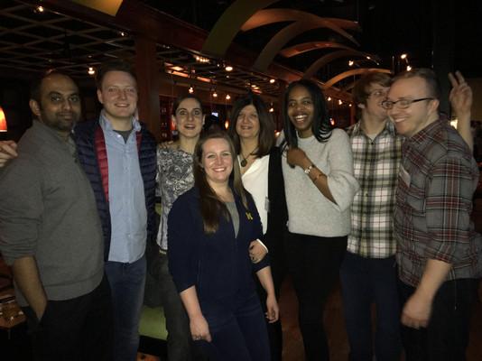 Packard Center Bowling Night. 02/18