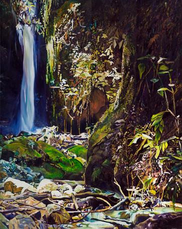 Waterfall Screen