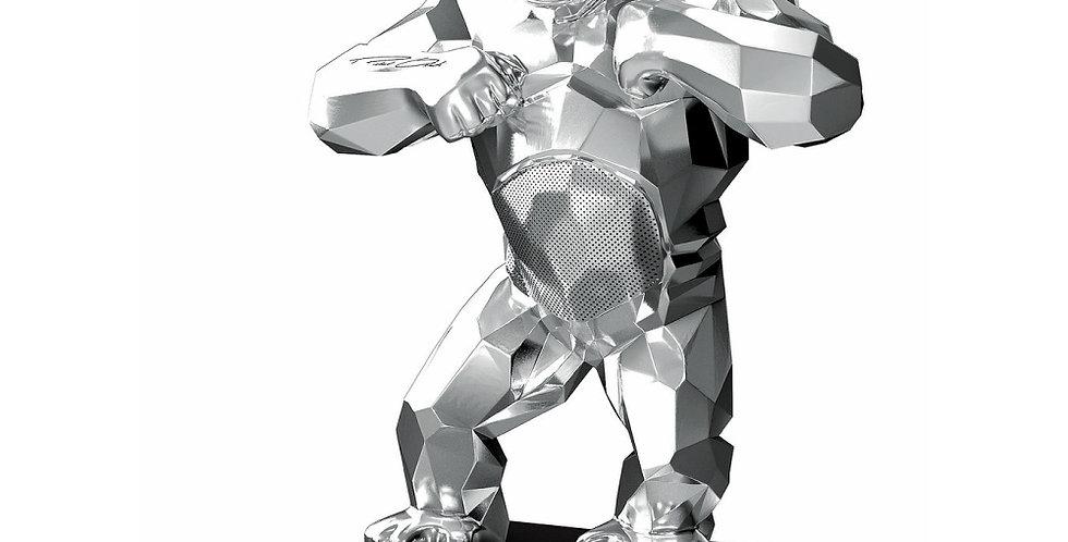 KiwiKong Silver - enceinte connectée signée Richard Orlinski
