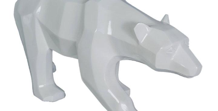 Animaux en résine Suisse - Ours Polaire Origami