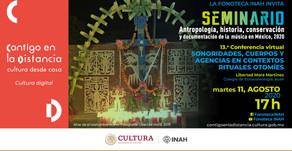 "Libertad Mora, ""Sonoridades, cuerpos y agencias en contextos rituales otomíes"""