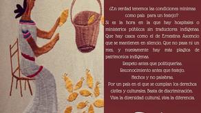 ¿Algo qué festejar? Día internacional de los pueblos indígenas
