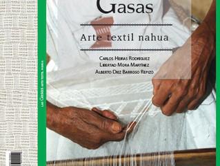 """Heiras, Mora, """"Las gasas. Arte textil nahua"""", con introducción de Diez Barroso: libro digi"""