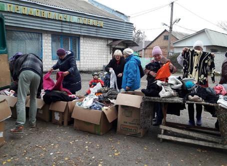 COVID Outreach in Ukrainian Village