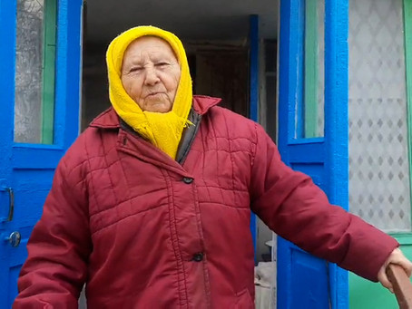 Connecting with and Honoring Seniors in Eastern Ukraine