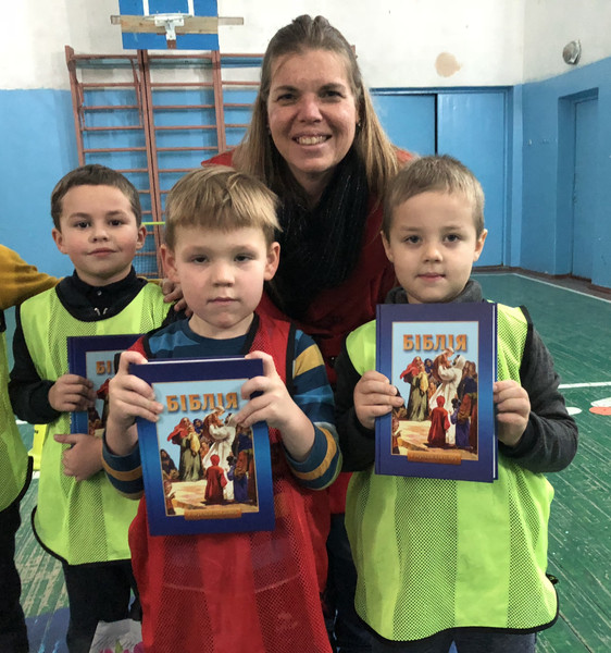 Children's Bibles for Christian soccer club boys