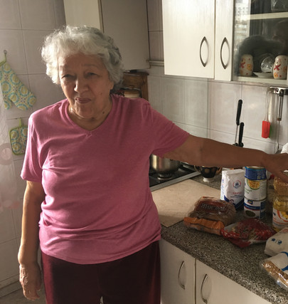 Home visits bring more than just food to the lonely elderly