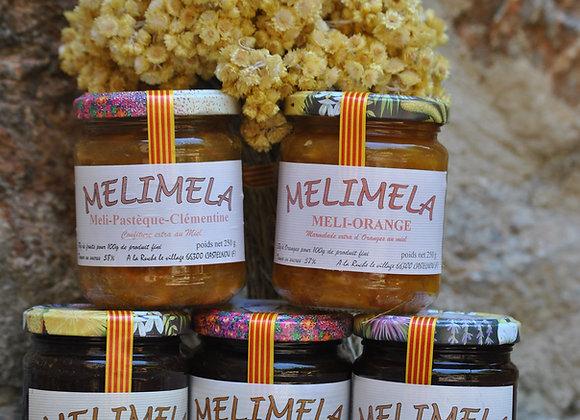 Nos confitures au Miel : Les Mélimela