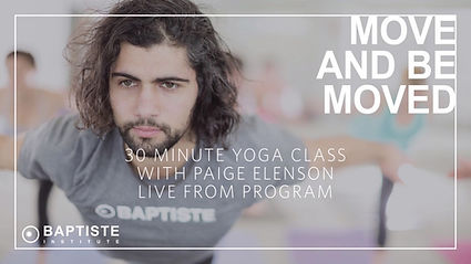 30 Minute Baptiste Yoga Journey Ino Powe