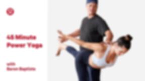 45 Minute Power Yoga Class with Baron Ba