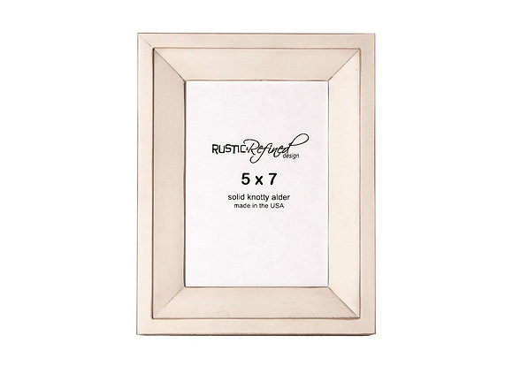 5x7 Haven picture frame - Off White