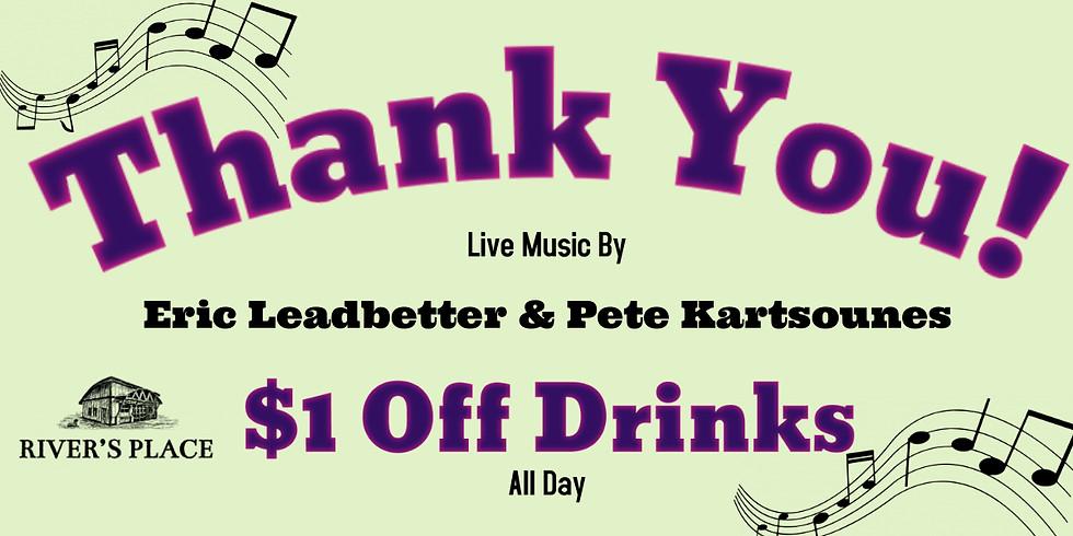 Eric Leadbetter & Pete Kartsounes