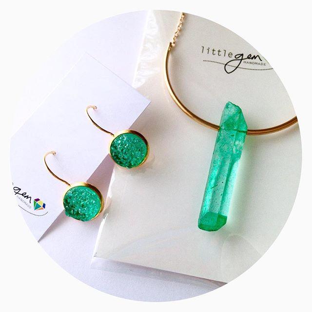 Custom Set - Aqua Quartz Necklace