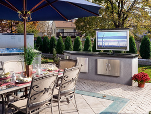 Hiding a Television in Your Backyard