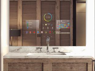 Séura TV Mirrors Enhance your Morning Routines