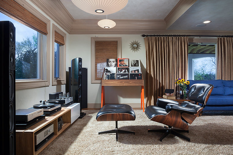 Media Room Eames Lounge Chair