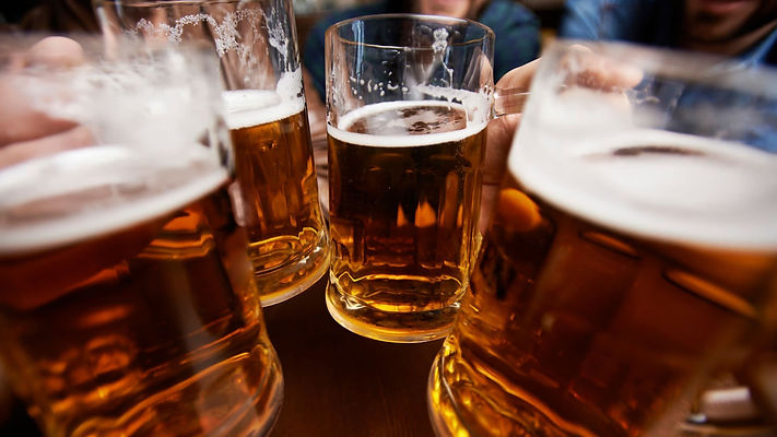 Craft Beer Cheers Toast Friends