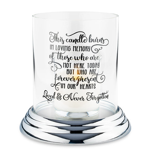 Memorial Candle Holders - Message 3