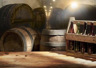 Craft Beer Aging In Wine Barrels