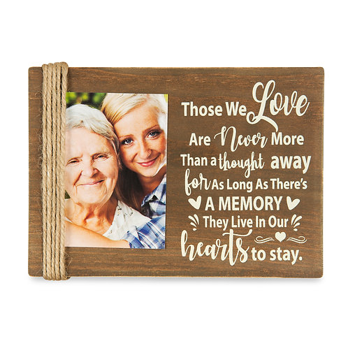 """Majestic Zen 5"""" x 7"""" Memorial Picture Frame- Holds 3"""" x 4"""" Small Wood-ppl-2"""