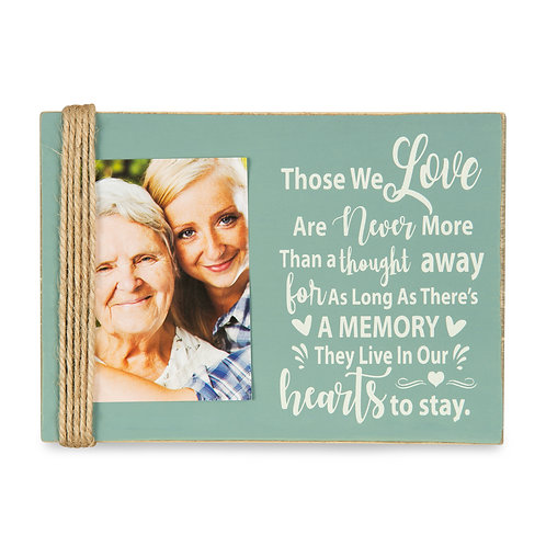 "Majestic Zen 5"" x 7"" Memorial Picture Frame- Holds 3"" x 4"" Small Green-ppl-2"