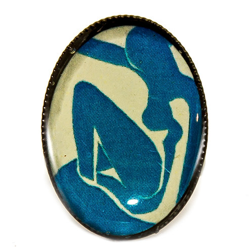 Anel Matisse - Blue Nude