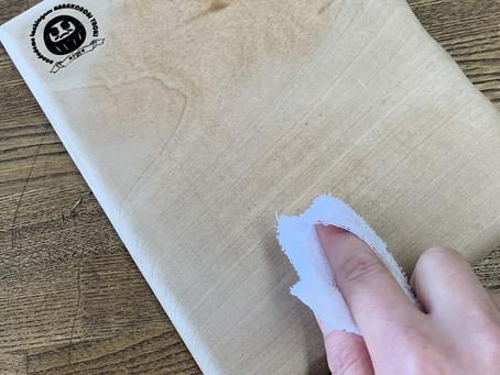 木製マウスパッドのお手入れ