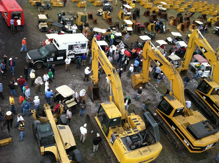 Online construction equipment website Pr