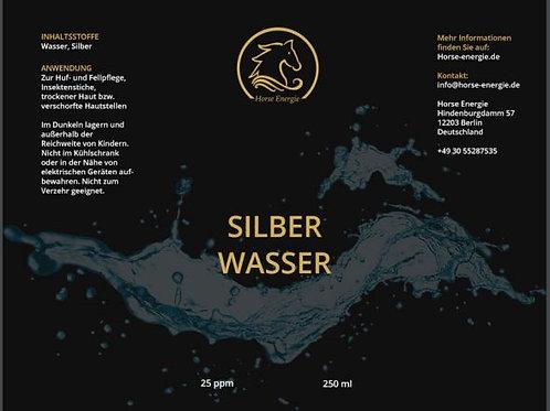 Kolloidales Silber Wasser