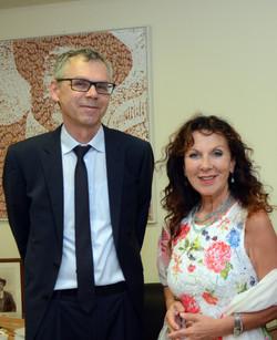 Denia Mazzola e  Bruno Dobric