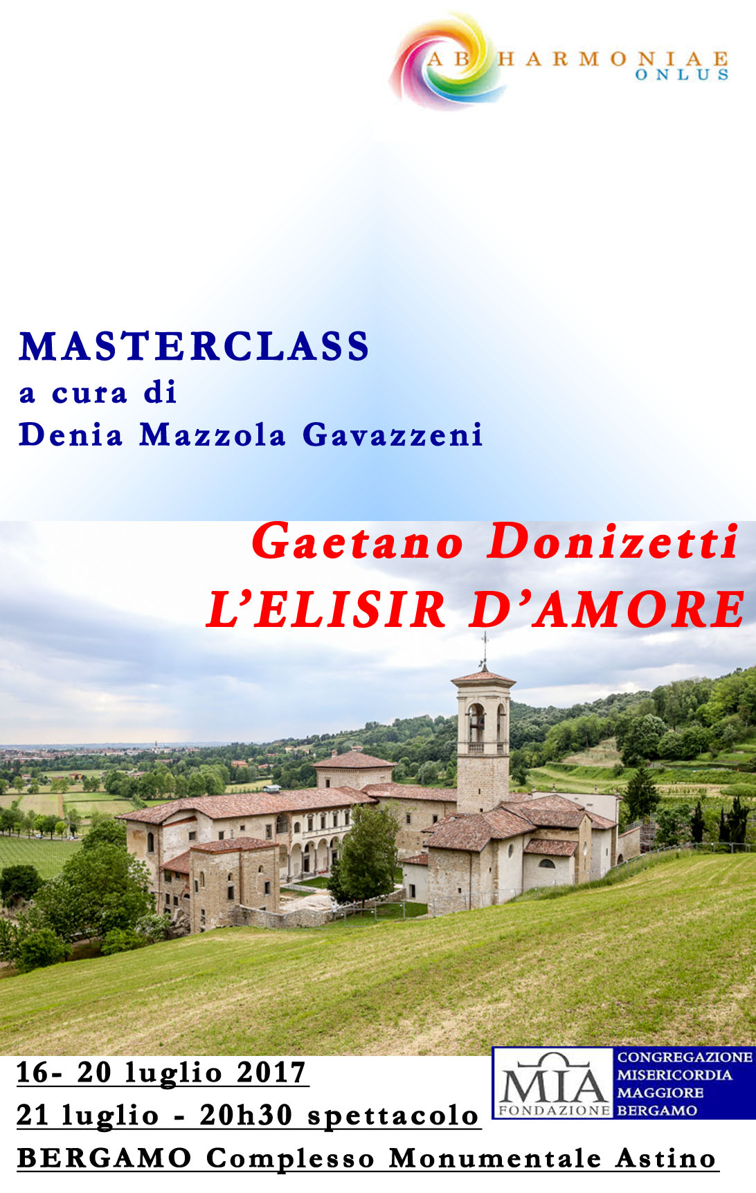 elisir d'amore master nuovo