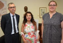 con Bruno Dobric e Sofia Cingula