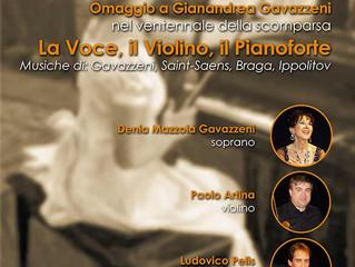 La Voce, il Violino, il Pianoforte