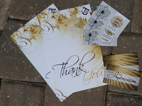 Linen Business Cards: Service Spotlight