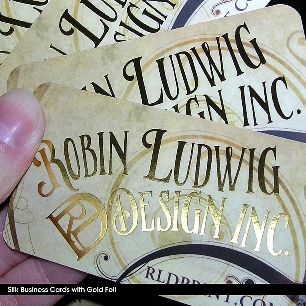 Premium Business Cards Printed | Full Color, Gold Foil Printing & More
