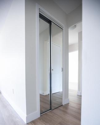 Sliding Door Compact Closet