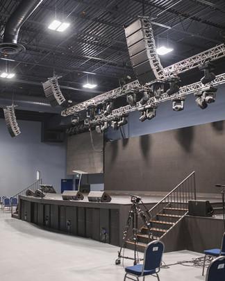 Stage Renovation & Build