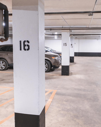 Parking Garage Paint Decals