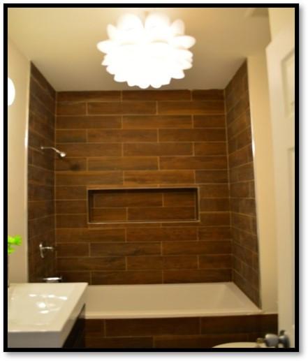 2513 Clarendon Rd - Brown Tile Bath - Af