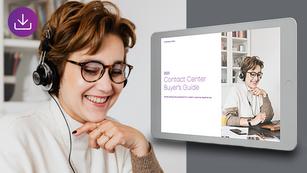 Guide 2021 de l'acheteur pour les centres de contacts