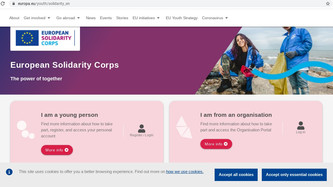 How to apply for the European Solidarity Corps (ESC)